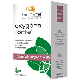 Oxygène forte regard 30 gélules + flacon 50ml - divers - biocyte -141766