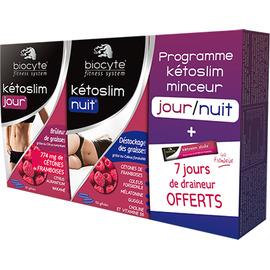 Pack kétoslim minceur jour nuit - biocyte -211149