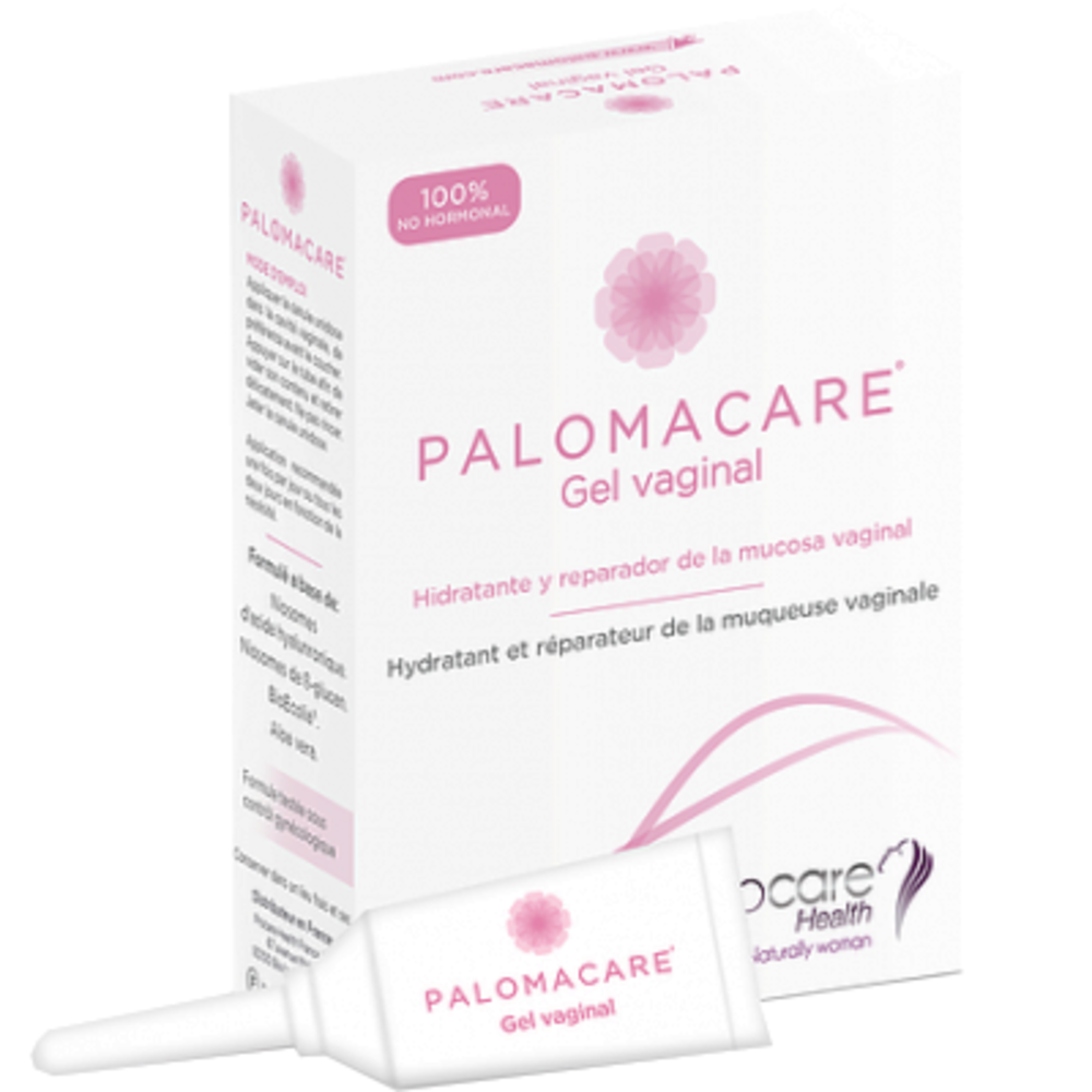 Palomacare gel vaginal 6 canules unidoses x 5ml - procare health -214504