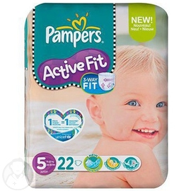 PAMPERS Active Fit - Taille 5 - Pampers -144408