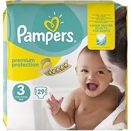 Pampers premium protection 4-9kg taille 3 - 29 couches - pampers -216347