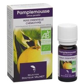 Pamplemousse bio - 10.0 ml - les huiles essentielles bio - dr. valnet Digestion - minceur-15164