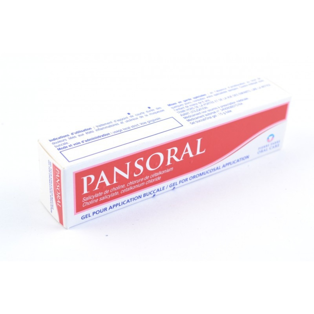 Pansoral gel pour application buccale - 15g - 15.0 g - pierre fabre -192894