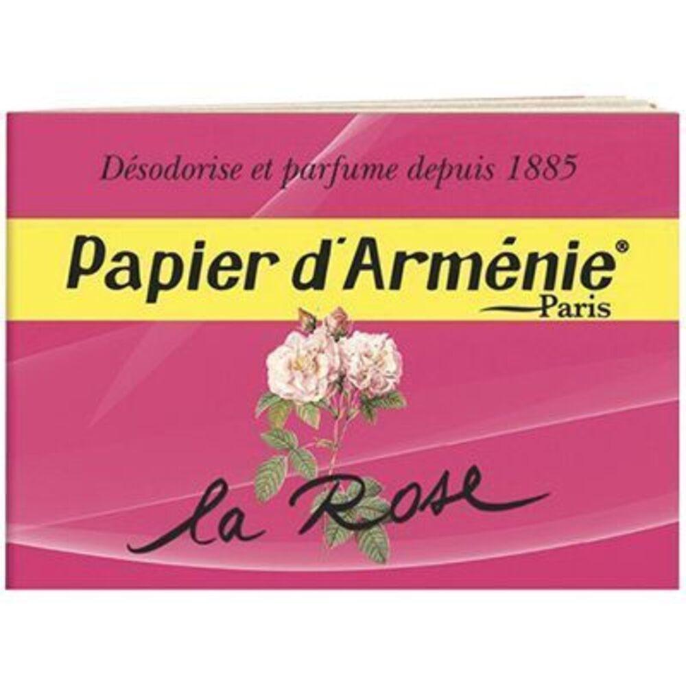 Papier d?arménie parfum rose - 30.0 unites - papier armenie -137277