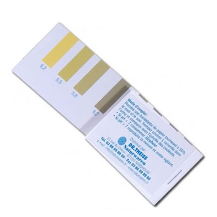 Papier indicateur ph urinaire - 52 tests Dr theiss-10824