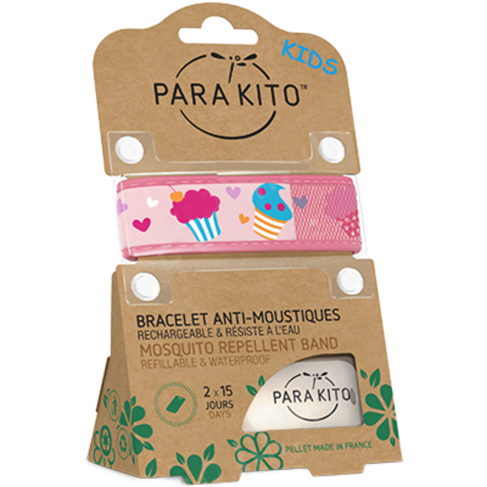 Parakito kids bracelet anti-moustique cupcake - parakito -213931
