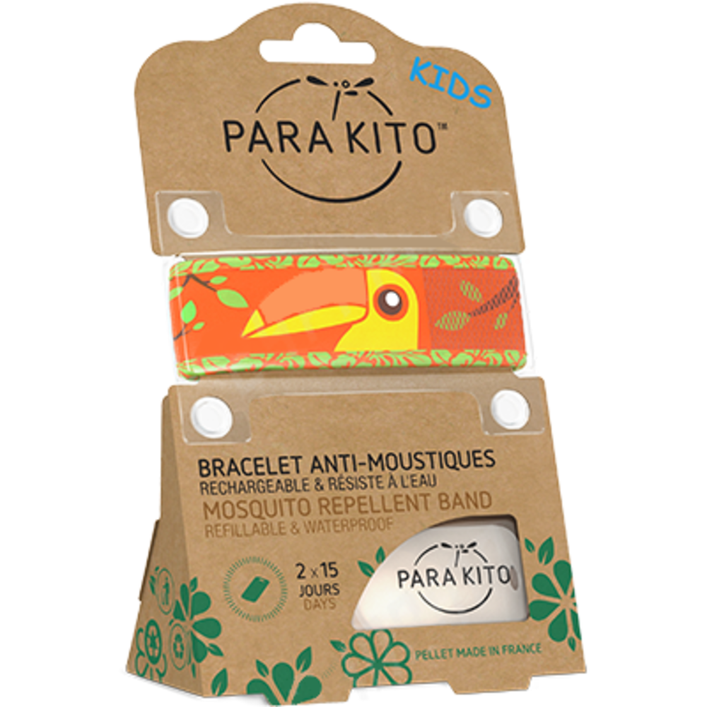 Parakito kids bracelet anti-moustique toucan - parakito -213930