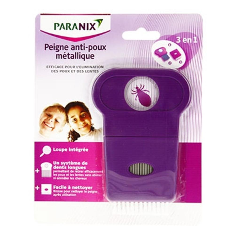 Paranix peigne anti-poux métallique - anti poux - paranix -124586