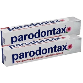 Parodontax blancheur dentifrice lot de 2 x 75ml - parodontax -200955
