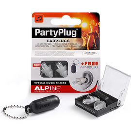 Partyplug bouchons d'oreille + minibox - alpine hearing protection -228507