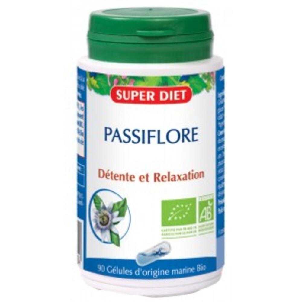 Passiflore bio - 90.0 unites - les gélules de plantes bio - super diet détente, relaxation, sommeil-11109