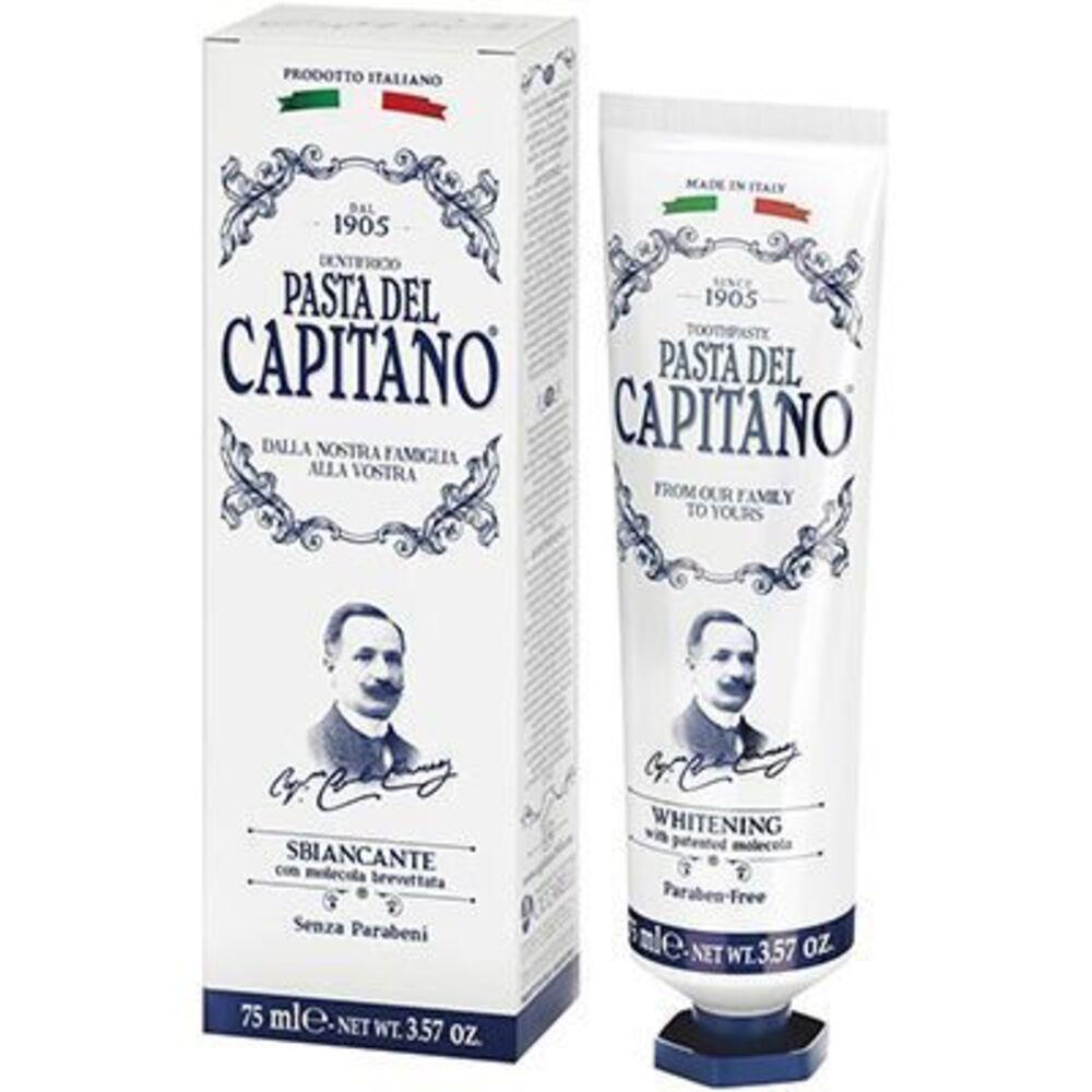 Pasta del capitano dentifrice whitening 75ml - pasta-del-capitano -222716