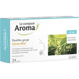 Pastilles gorge citron-miel 24 pastilles - le comptoir aroma -225580