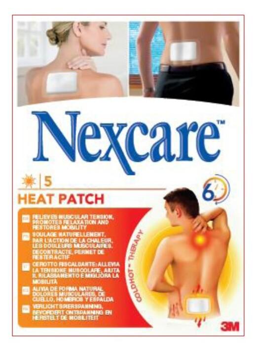 Patch chauffant heat patch Nexcare-140442