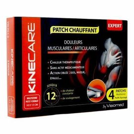 Patch chauffant multizone 10x13cm x4 - kinecare -216472