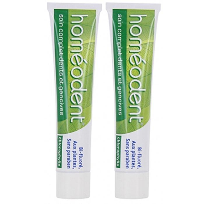 Pâte dentifrice chlorophylle - lot de 2 Homeodent-146018