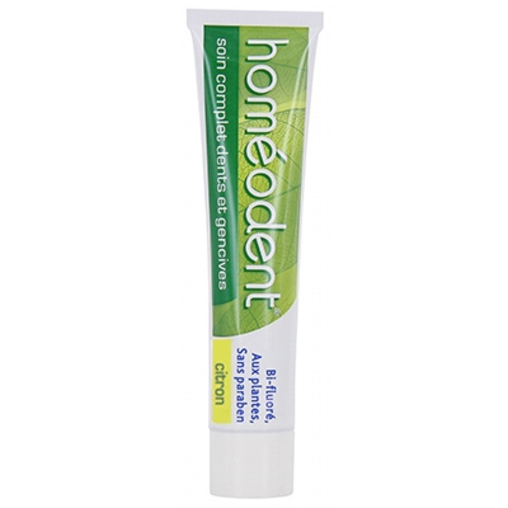 Pâte dentifrice citron - 75.0 ml - homeodent -145754