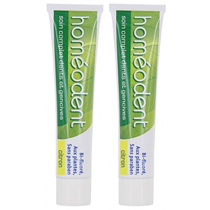 Pâte dentifrice citron - lot de 2 Homeodent-146019