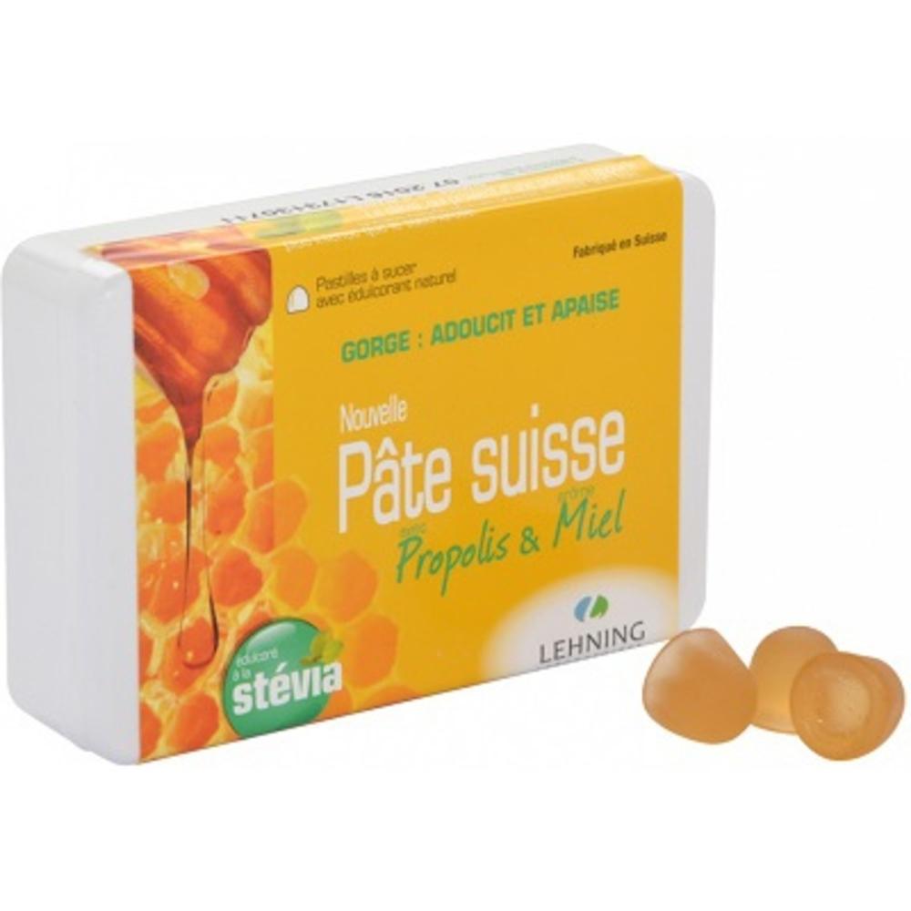 Pate suisse propolis et miel - lehning -190116