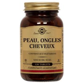 Peau ongles cheveux 120 tablets - solgar -195392