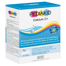Pediakid calcium c+ - 14.0 unites - pédiakid - pediakid Croissance harmonieuse et solidité des os-10956