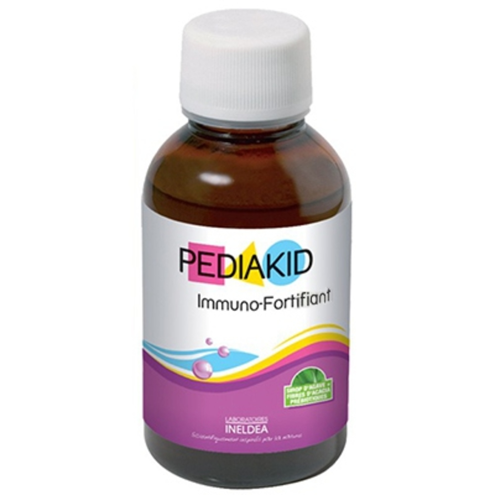 PEDIAKID Immuno-fort - 125ml - 125.0 ml - Pédiakid - Pediakid Stimuler les défenses naturelles de l'organisme-10949
