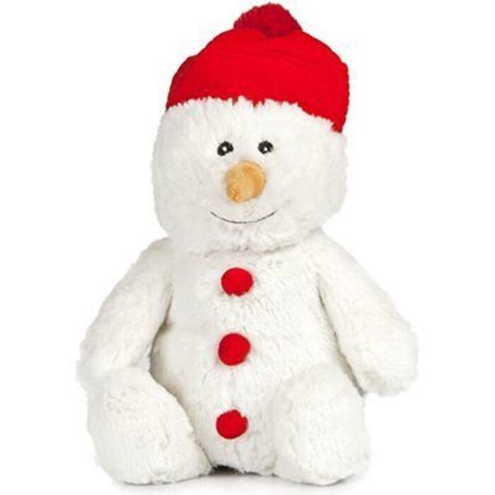 Pelucho bouillotte peluche bonhomme de neige Pelucho-223292