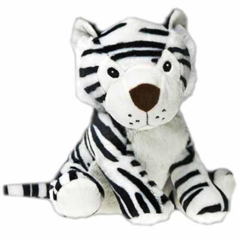 Pelucho bouillotte peluche tigre blanc - pelucho -225470