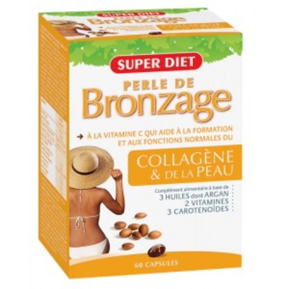 Perle de bronzage - 60.0 unites - cosmétique orale - super diet Soleil et éclat-1384