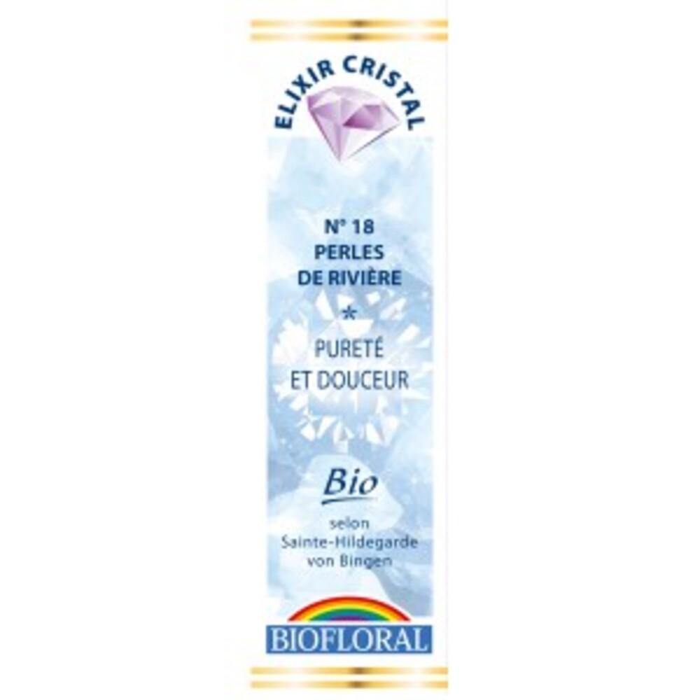 Perles de rivière, pureté et douceur bio - 20 ml - divers - biofloral -134071