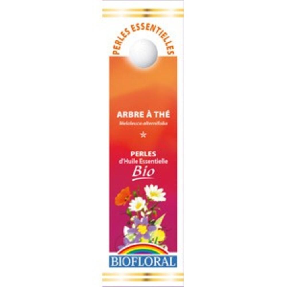 Perles essentielles arbre à thé, tea tree bio - 20 ml - divers - biofloral -134046