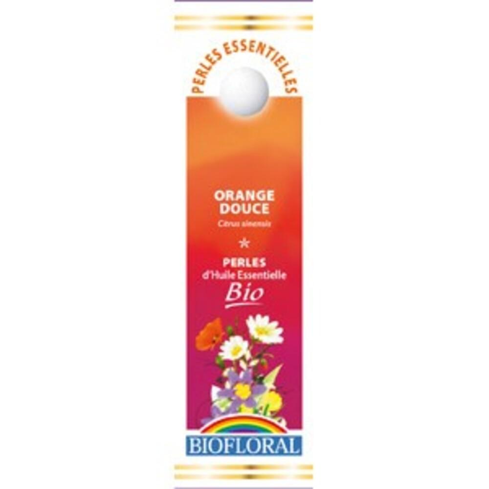 Perles essentielles orange bio - 20 ml - divers - biofloral -134051