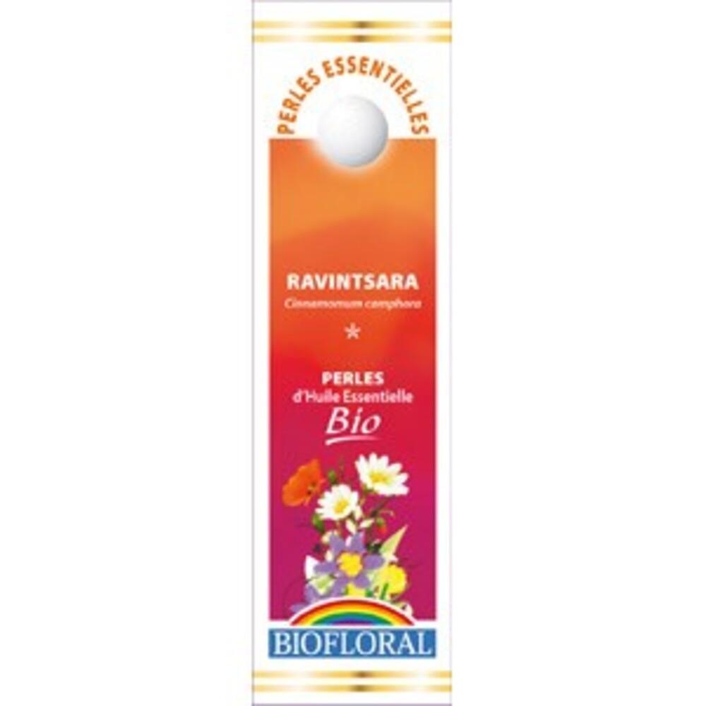 Perles essentielles ravintsara bio - 20 ml - divers - biofloral -134053