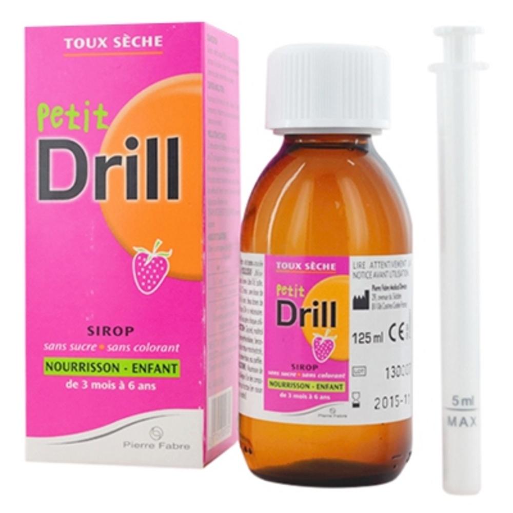 Petit drill toux sèche sirop - 125.0 ml - pierre fabre santé -143953