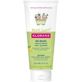 Petit junior gel douche cheveux poire 200ml - klorane -221651