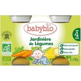 Petits pots jardinière de légumes bio - dès 4mois -... - divers - babybio -133619