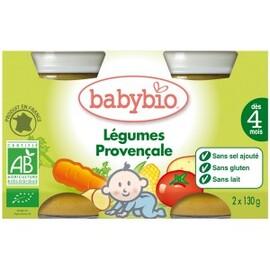 Petits pots légumes provençale bio -dès 4mois -... - divers - babybio -133620