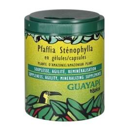 Pfaffia stenophylla - 50.0 unites - compléments alimentaires en poudre et gélules - guayapi Souplesse, agilité, reminéralisation-9290