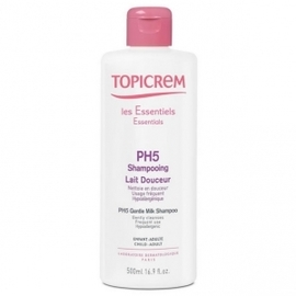 Ph5 shampooing lait douceur - 500 ml - topicrem -197894