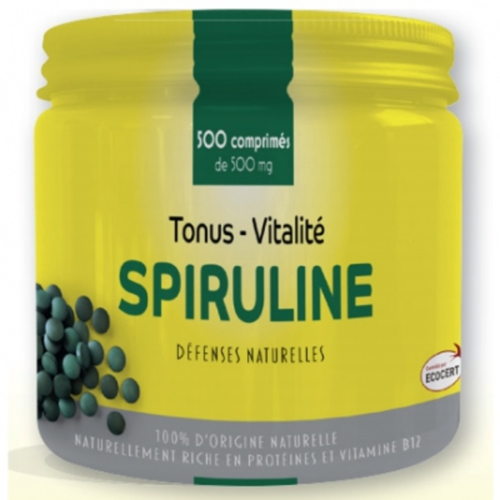 Pharm up spiruline - 500 comprimés Pharm'up-205352
