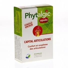 Phyltalgic capital articulations - 45 capsules - 45.0 unites - articulations - phytea Apaisement des articulations sensibles-2958