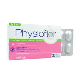 Physioflor microbiotique flore intime 30 gélules - iprad -221220
