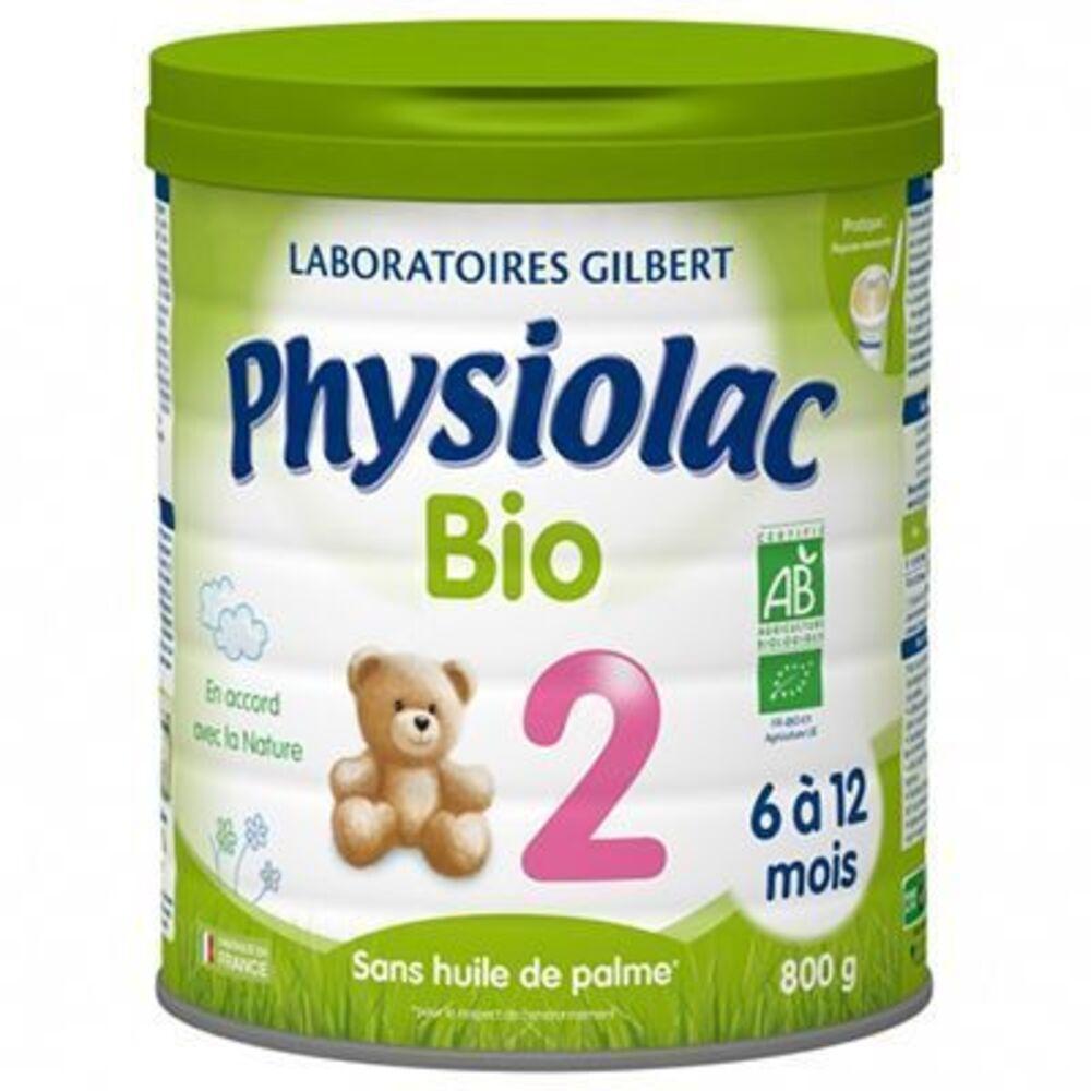 Physiolac bio 2ème âge de 6 à 12 mois 800g - 900.0 g - physiolac -219764