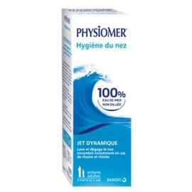 Physiomer enfants adultes jet dynamique - 135.0 ml - hygiène nasale - physiomer -141441