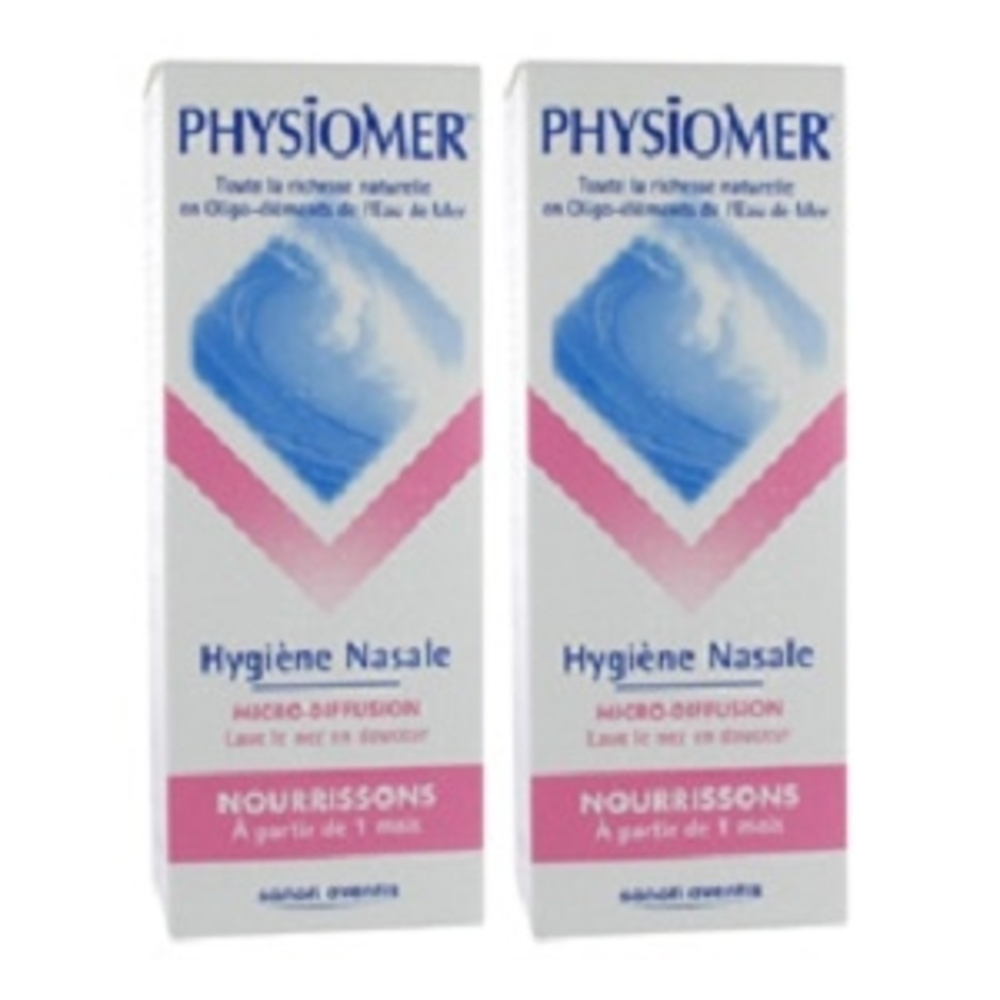 Physiomer nourrissons micro-diffusion - lot de 2 - physiomer -199061