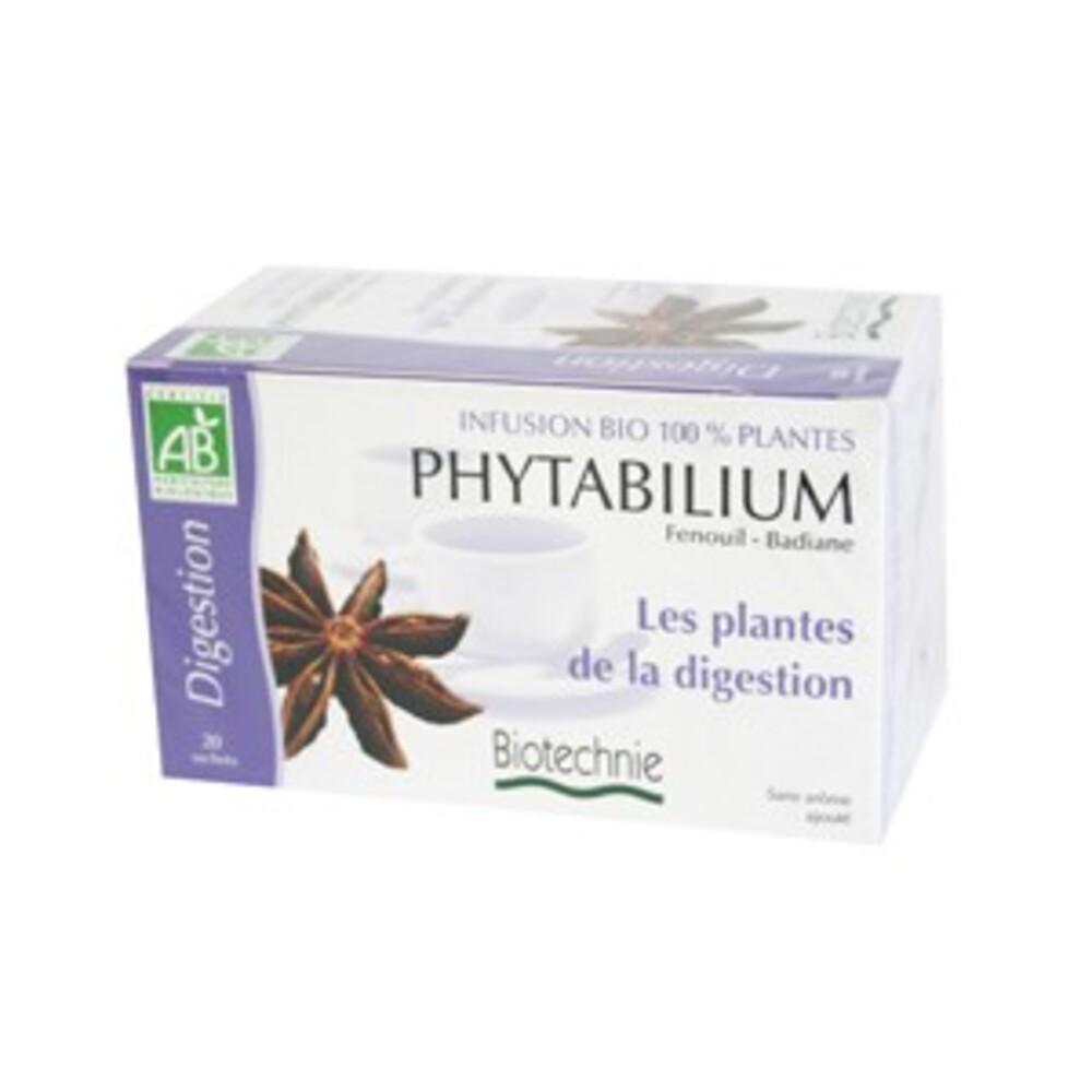 Phytabilium infusion bio - 20 sachets - divers - biotechnie -134302