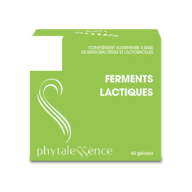Phytalessence ferments lactiques 45 gélules - phytalessence -149893