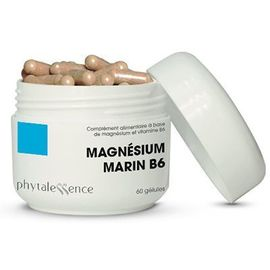 Phytalessence magnésium marin b6 60 gélules - phytalessence -149890