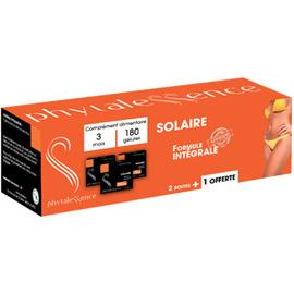 Phytalessence solaire formule intégrale 2 boîtes + 1 offerte 3x60 gélules - phytalessence -210575