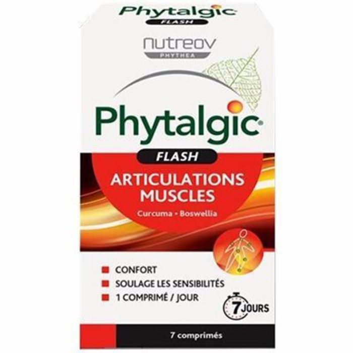 Phytalgic flash 7 comprimés Nutreov-216477